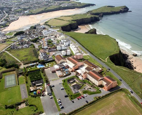 Sands Resort Hotel and Spa - Seaside Hotel in Newquay
