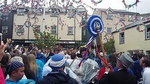 Image result for padstow obby oss